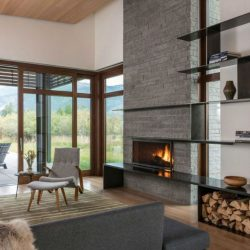 Beautiful Modern Fireplaces For Winter Design Ideas25
