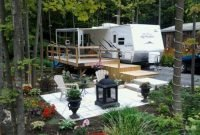 Best Wonderful Rv Camping Living Decor Remodel32