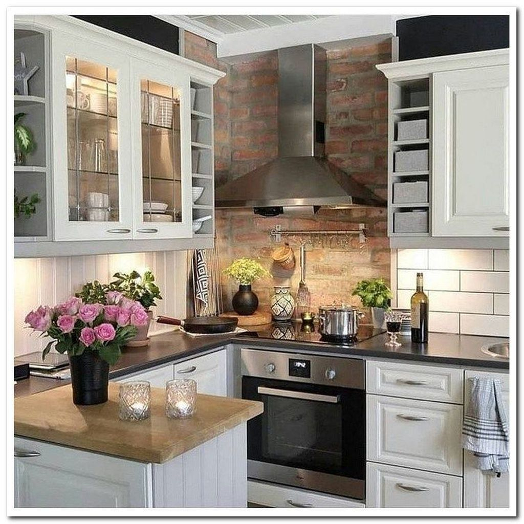 Kitchen Ideas On A Small Budget: 39 Attractive Small Kitchen Decorating Ideas On A Budget