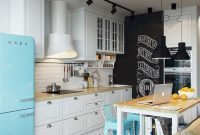 Awesome Small Kitchen Design And Decor Ideas35