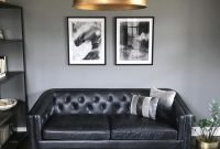 Luxury Black Leather Living Room Sofa Ideas For Comfortable Living Room01