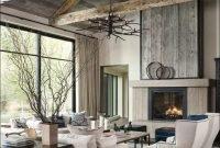 Attractive Lake House Living Room Decor Ideas23