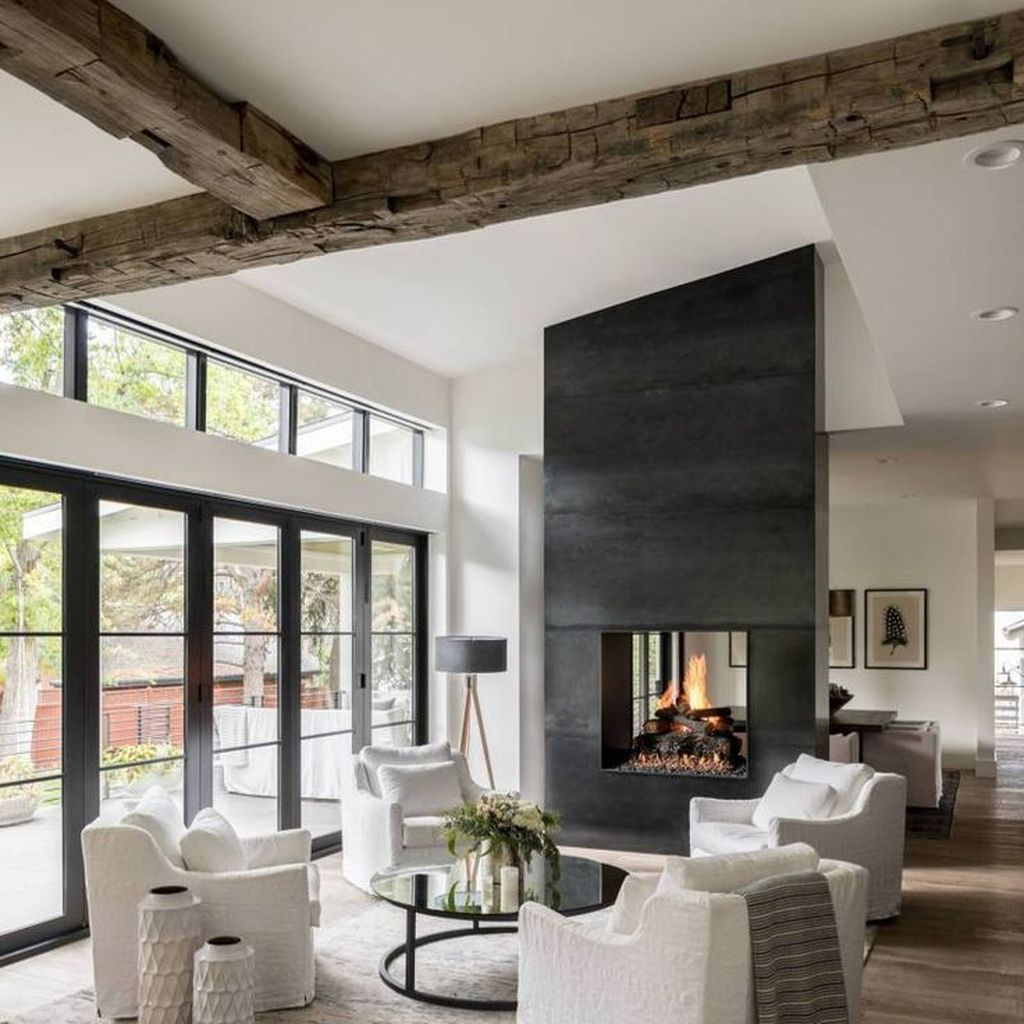 Relaxing Living Rooms Design Ideas With Fireplaces28