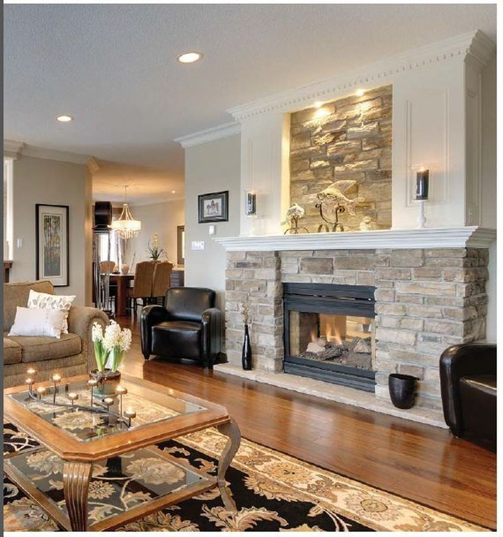 Relaxing Living Rooms Design Ideas With Fireplaces41