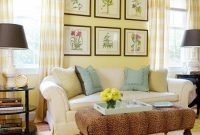 Extraordinary Yellow Living Room Ideas36