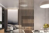 Modern Living Room Partition Ideas37