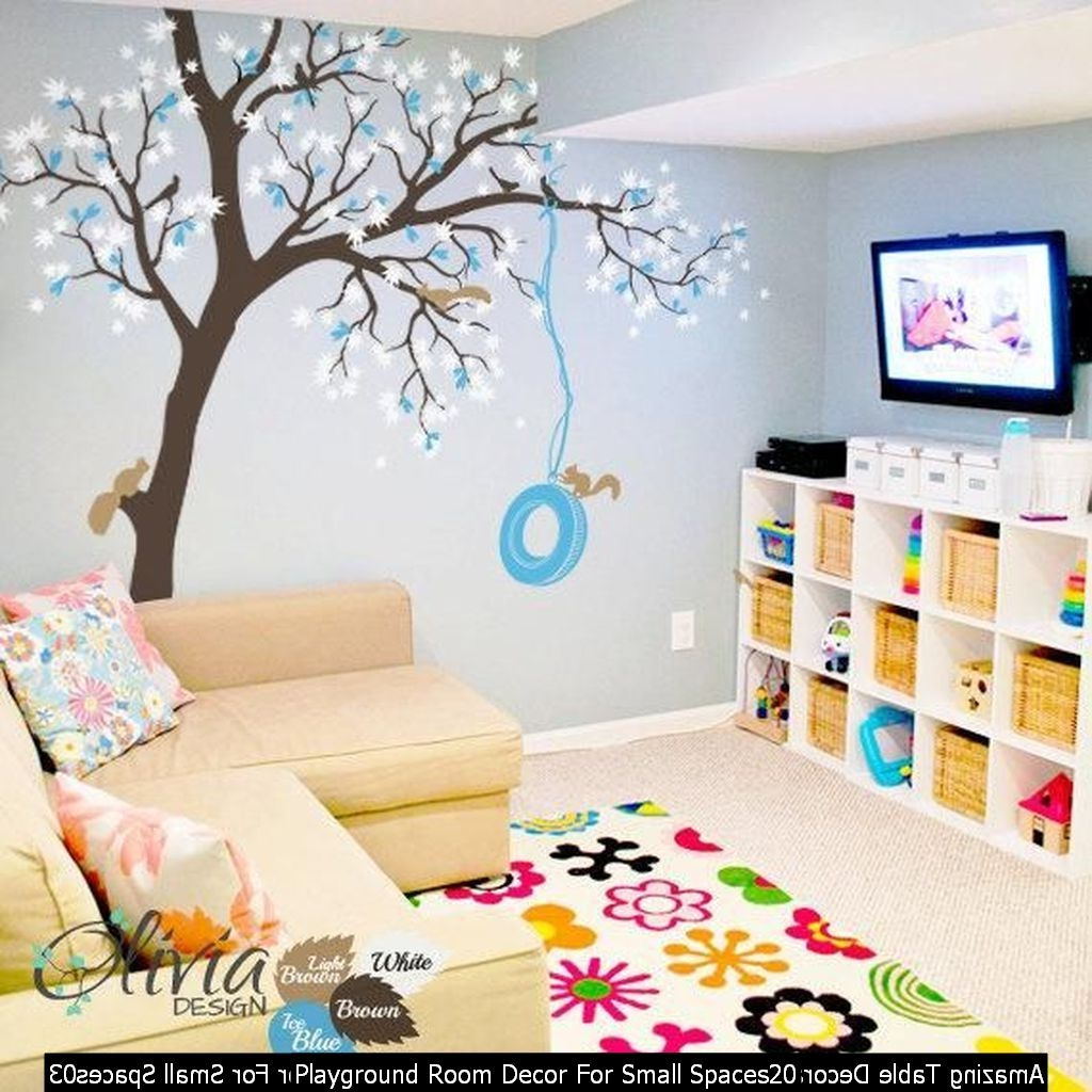 Playground Room Decor For Small Spaces20